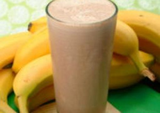 Chocolate Banana Milk Shake