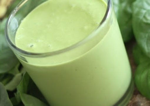 Peanut Butter & Spinach Smoothie